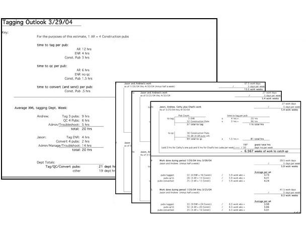 McGraw-Hill XML Cost/Benefit Analyisis